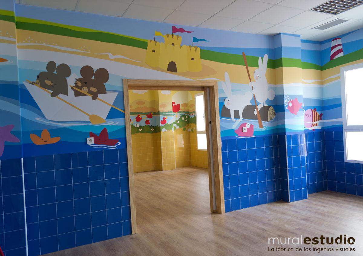 Muralestudio murales infantiles - Decoracion infantil paredes ...