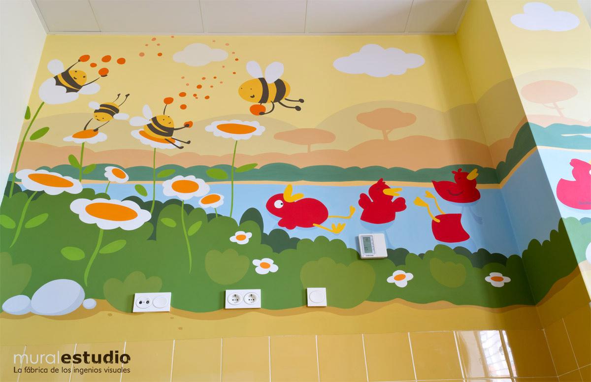Decoracion Infantil Para Paredes Vinilo Decorativo Infantil - Dibujos-pared-infantil